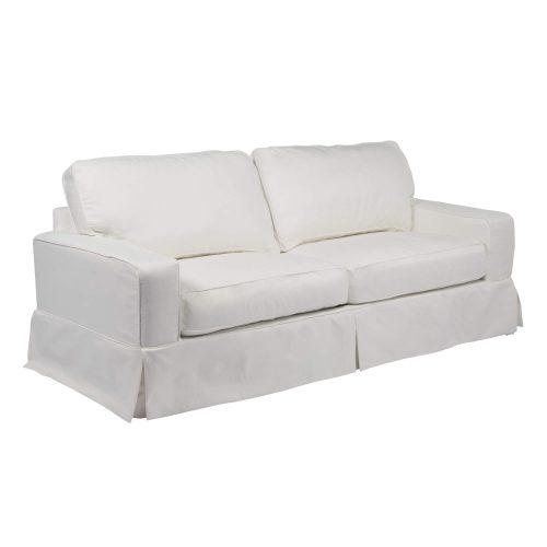 Americana Slipcovered Collection - Sofa - three-quarter view SU-108500-391081