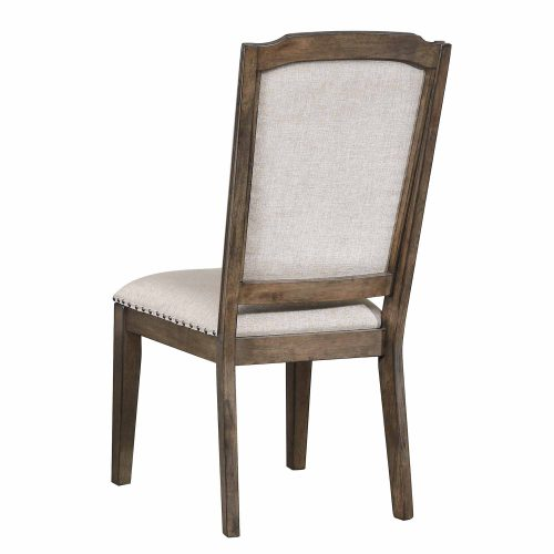 """Cali Dining Collection - 41"""" H upholstered dining chair - back view - DLU-CA-C113-2"""