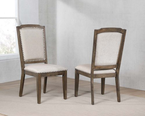 """Cali Dining Collection - 41"""" H upholstered dining chair - dining room pair - DLU-CA-C113-2"""
