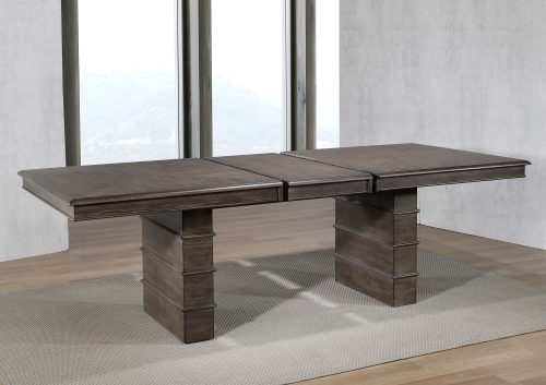 Cali Dining Collection - extendable dining table - dining room setting with leaf DLU-CA113