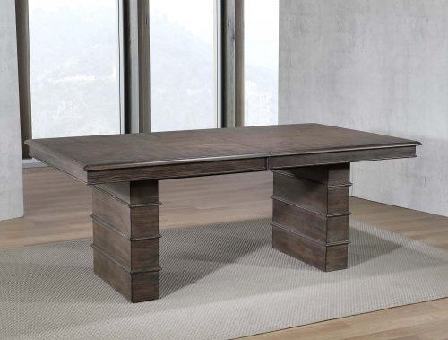 Cali Dining Collection - extendable dining table - dining room setting without leaf DLU-CA113