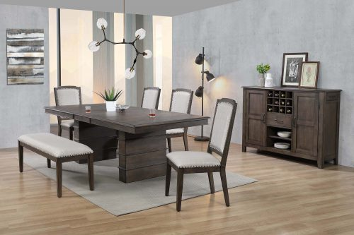 Cali Dining Collection - seven-piece dining set - dining room setting DLU-CA113-4C-BNSR7PC