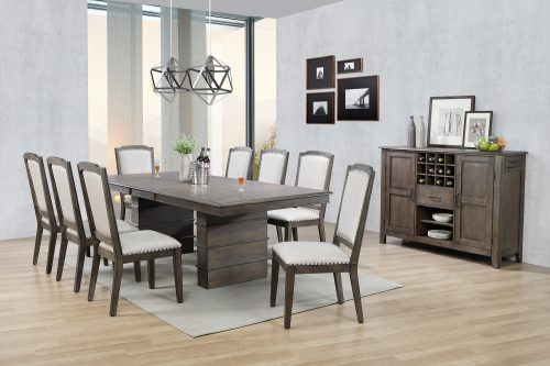 Cali Dining Collection - ten-piece dining set - dining room setting DLU-CA113-8C-SR10PC