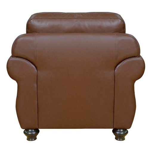 Charleston Chair in Chestnut. Back view-SU-CR2130-86-100LF