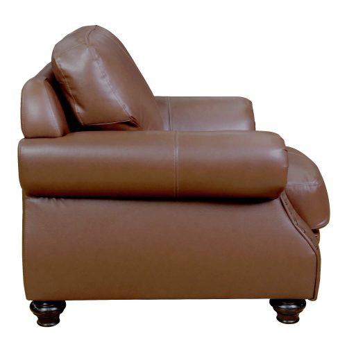 Charleston Chair in Chestnut. Side view-SU-CR2130-86-100LF