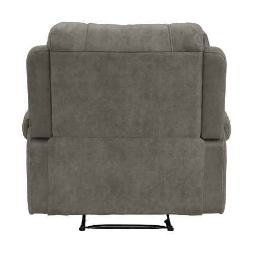 Calvin Motion Recliner in Grey. Back view SU-CL23004100-107