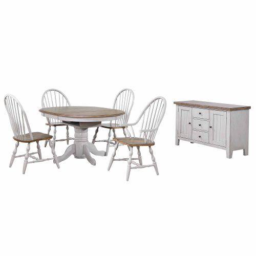 Country Grove Collection - Six-piece dining set DLU-CG4260-30AGOB6