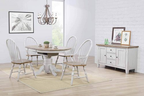 Counry Grove Collection - Six-piece dining set in dining room setting DLU-CG4260-30AGOB6