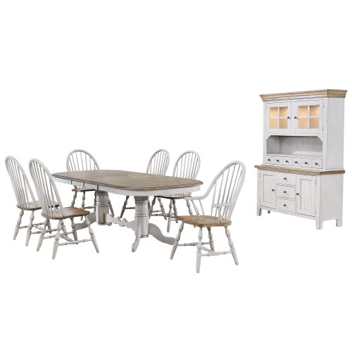 Country Grove Collection - Eight-piece dining set DLU-CG4296-30AGOBH8