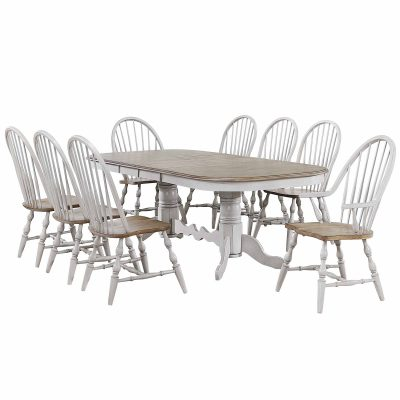 Country Grove Collection - Nine-piece dining set DLU-CG4296-30AGO9