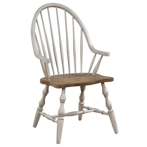 Country Grove Collection - Windsor Armchair - three-quarter view DLU-CG-C30A-GO