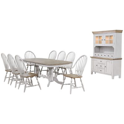 Country Grove Collection - ten-piece dining set DLU-CG4296-30AGOBH10
