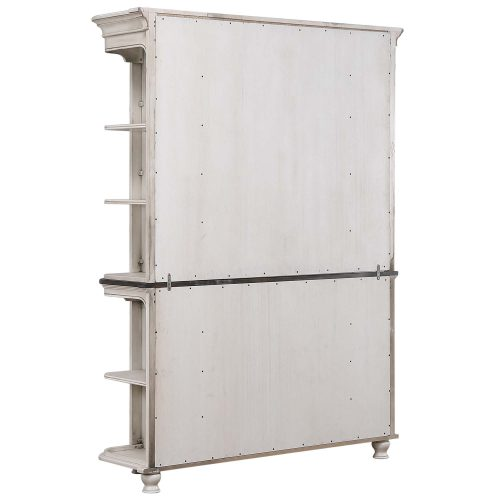French Chic - buffet and hutch - back view - DLU-FC-BH