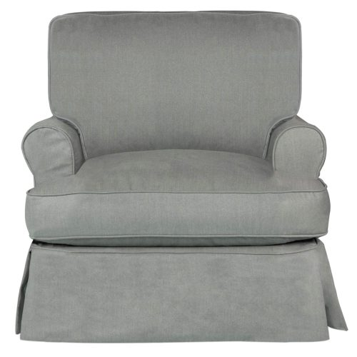 Horizon Slipcovered Collection - Padded Chair - front view SU-117620-391094