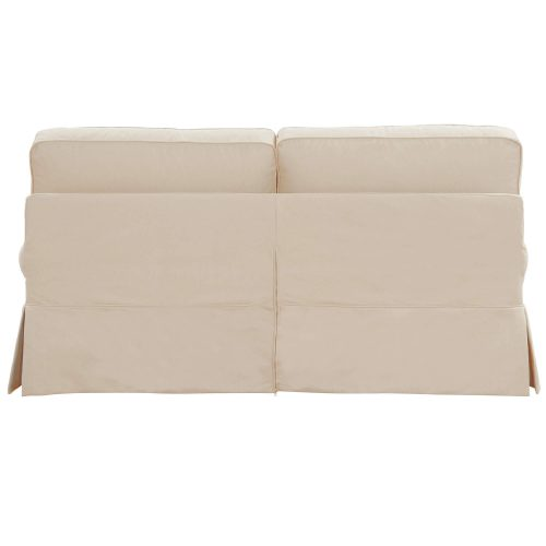 Horizon Slipcovered Collection - Padded Loveseat - back view SU-117610-391084