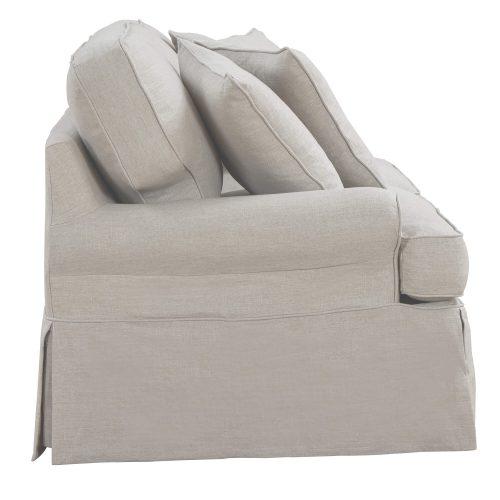 Horizon Slipcovered Collection - Padded Sofa - side view SU-117600-220591