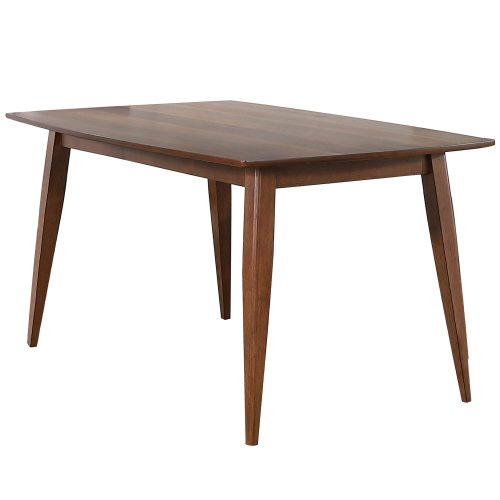 Mid Century Dining Collection - Dining table - 60 inch - three-quarter view - DLU-MC3660