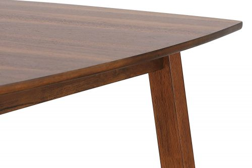 Mid Century Dining Collection - Dining table - 60 inch - view of legs and top - DLU-MC3660