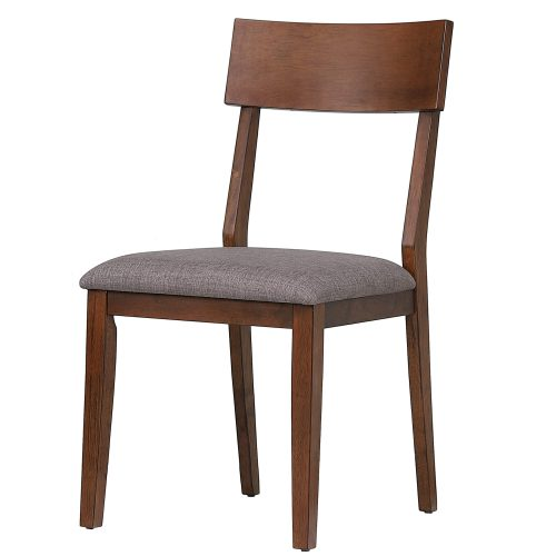 Mid-Century Dining Collection - dining chair with padded performance seat - three-quarter view DLU-MC-C45