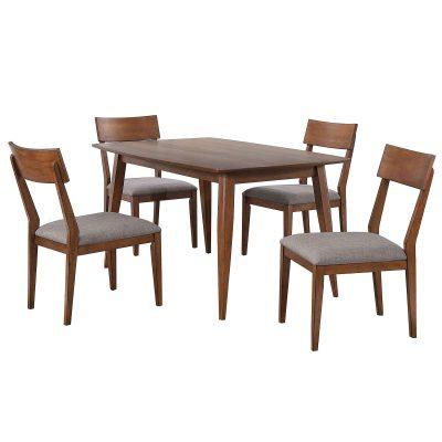 Mid-Century Dining Collection - five piece dining set - DLU-MC3660-C45-5P