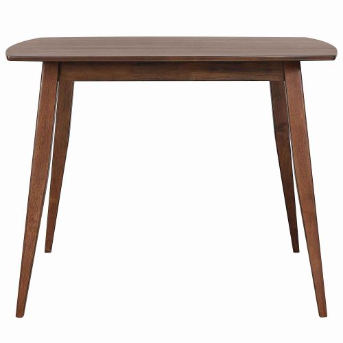 Mid century dining collection - counter height pub table - front view - DLU-MC4848
