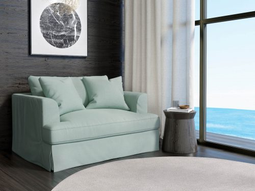 Newport Slipcovered Collection - Chair and a half - living room setting SY-130015-391043