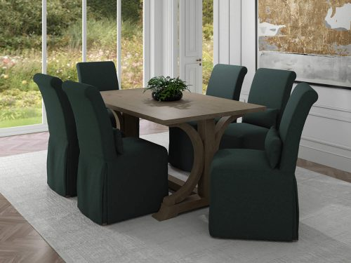 Newport Slipcovered Collection - Dining Chair - dining room setting SY-1025906-391098