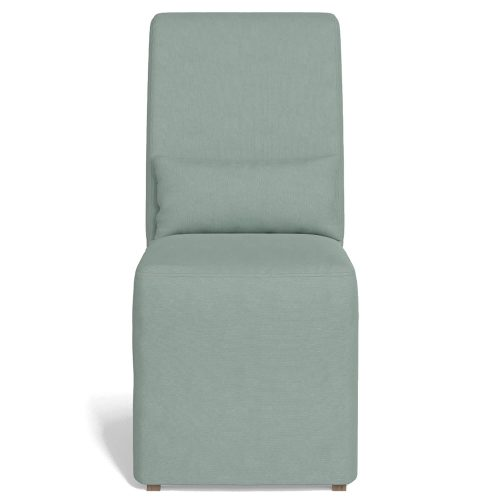 Newport Slipcovered Collection - Dining Chair - front view SY-1025906-391043