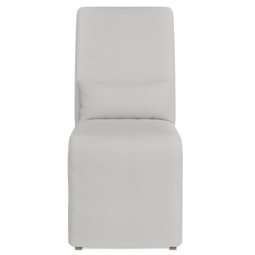 Newport Slipcovered Collection - Dining Chair - front view SY-1025906-391081