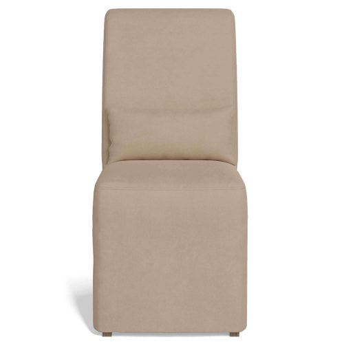 Newport Slipcovered Collection - Dining Chair - front view SY-1025906-391084