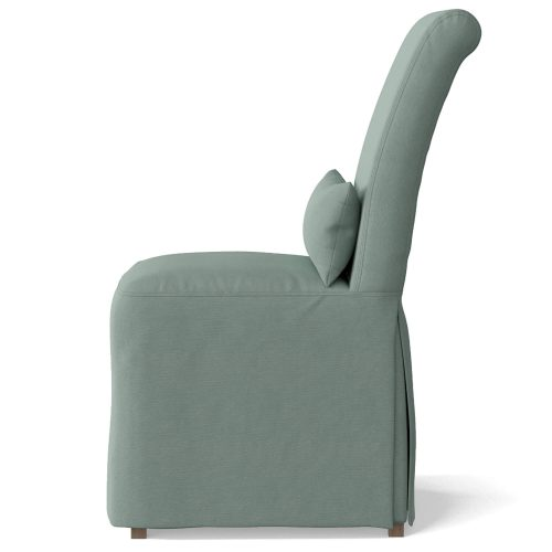Newport Slipcovered Collection - Dining Chair - side view SY-1025906-391043