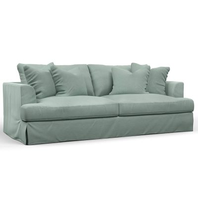 Newport Slipcovered Collection - Sofa - three-quarter view SY-130000-391043