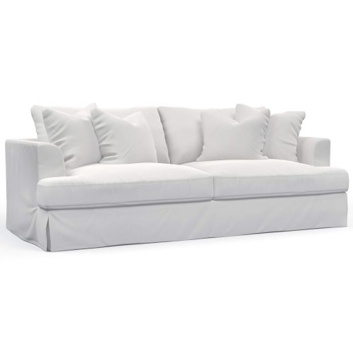 Newport Slipcovered Collection - Sofa - three-quarter view SY-130000-391081
