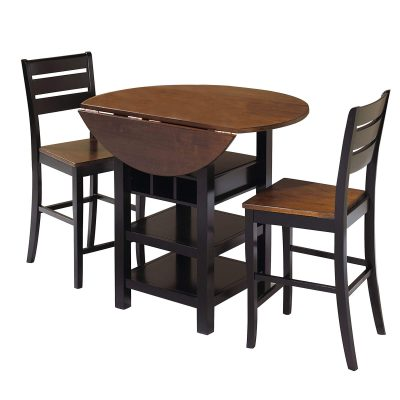 Quincy Pub Set in Black Cherry CR-A7572-3PC