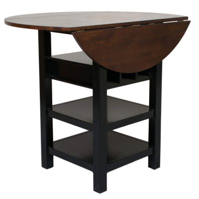 Quincy Pub table with leafs – Black Cherry CR-A7572-68