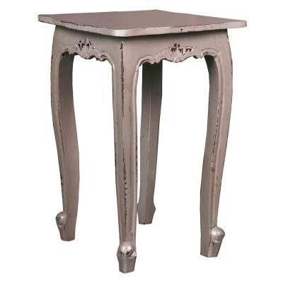 Shabby Chic Collection - Accent table finished in Antique Sage - Three-quarter view CC-TAB065LD-AS