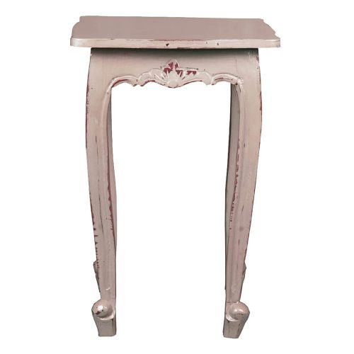 Shabby Chic Collection - Accent table finished in Antique Sage - front view CC-TAB065LD-AS
