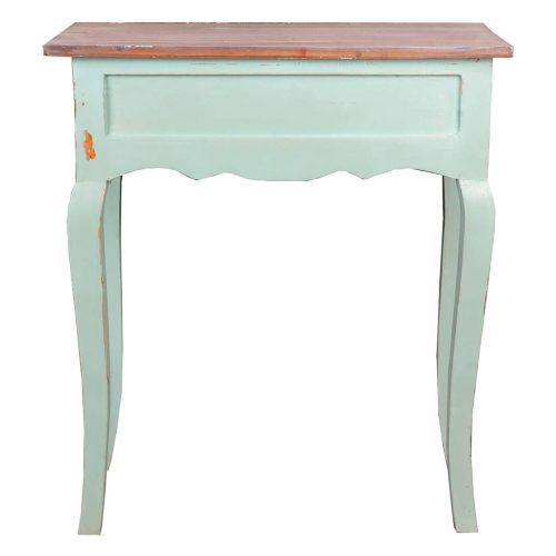 Shabby Chic Collection - Table finished in a lime wash - back view CC-TAB172TLD-BHLW