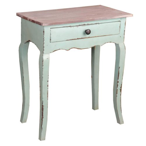 Shabby Chic Collection - Table finished in a lime wash - three-quarter view CC-TAB172TLD-BHLW