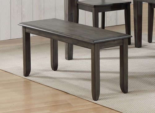 Shades of Gray Collection - Dining Bench - dining room setting DLU-EL-BN42