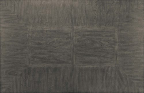 Shades of Gray - extendable dining table with butterfly leaf - top view DLU-EL9282