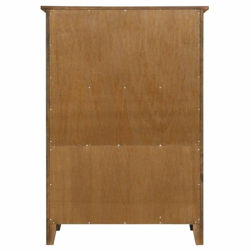 Tremont Bedroom Collection - Seven-drawer chest - back view SS-TR750-CH