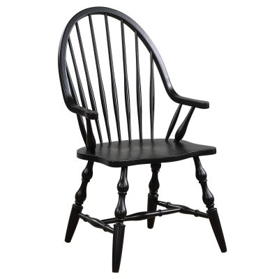 Windsor-Spindleback-Arm-Chair-Angle-view-DLU-C30A-AB