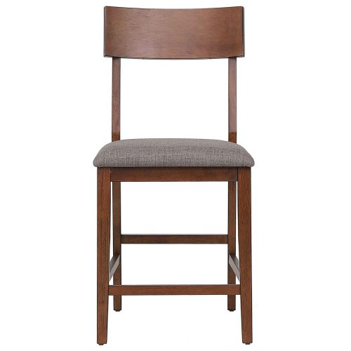 mid century dining collection - counter height bar stool - front view - DLU-MC-B45-2