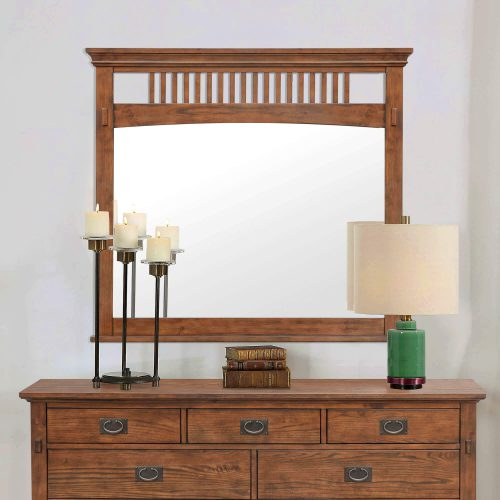 Mission Bay Collection-Mirror front view in room setting-CF-4934-0877