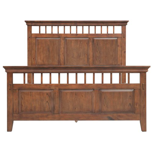 Mission Bay Collection-QueenKing Bed-front view-CF-4901-0877-QB