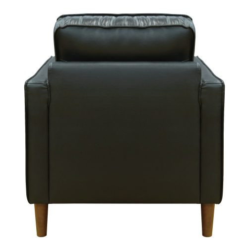 Prelude chair in black-back view-SU-PR15070-80-100E