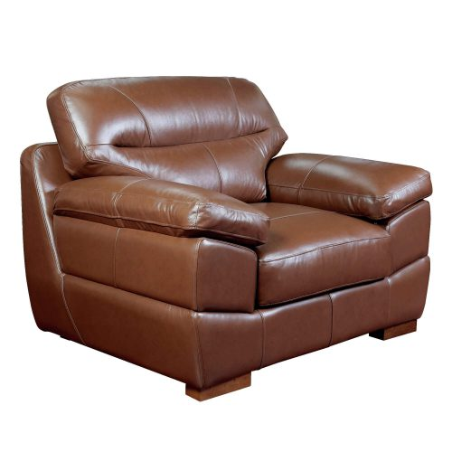 Jayson Chair in Chestnut - Angle view - SU-JH3786-101SPE