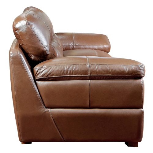 Jayson Sofa in Chestnut - Side view - SU-JH3786-301SPE